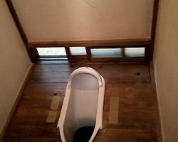 和式トイレのイメージ